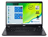 Acer Aspire 3 A315-56-3274 Pc Portatile, Notebook con Processore Intel Core i3-1005G1, Ram 8 GB DDR4, 256 GB PCIe NVMe SSD, Display 15.6' FHD LED LCD, Intel UHD, Windows 10 Home in S mode